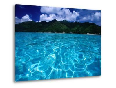Lagoon in Haapiti, Moorea, the French Polynesia-Paul Kennedy-Metal Print