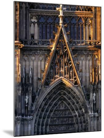 Facade of Cologne Cathedral, Cologne, Germany-Rick Gerharter-Mounted Photographic Print