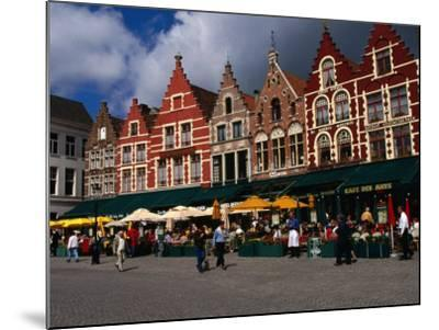 The Central Square in Brugges, Belgium-Doug McKinlay-Mounted Photographic Print