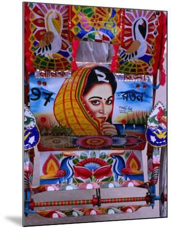 Decorated Rickshaw, Dhaka, Dhaka, Bangladesh-Richard I'Anson-Mounted Photographic Print