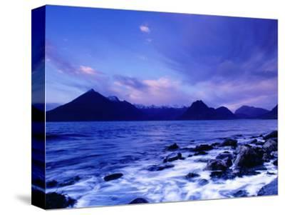 The Black Cuillin Mountains, Isle of Skye, Scotland-Gareth McCormack-Stretched Canvas Print