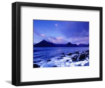 The Black Cuillin Mountains, Isle of Skye, Scotland-Gareth McCormack-Framed Photographic Print
