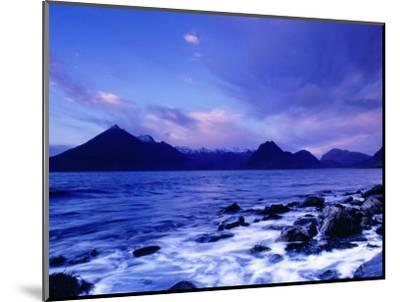 The Black Cuillin Mountains, Isle of Skye, Scotland-Gareth McCormack-Mounted Photographic Print