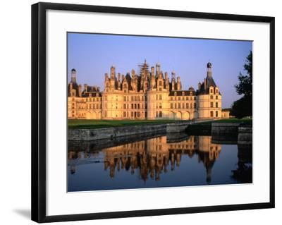 Chateau De Chambord, France-John Elk III-Framed Photographic Print