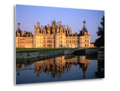 Chateau De Chambord, France-John Elk III-Metal Print