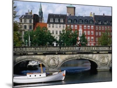 The Marble Bridge Over Frederiksholms Canal, Copenhagen, Denmark-Anders Blomqvist-Mounted Photographic Print