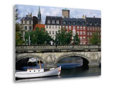 The Marble Bridge Over Frederiksholms Canal, Copenhagen, Denmark-Anders Blomqvist-Metal Print