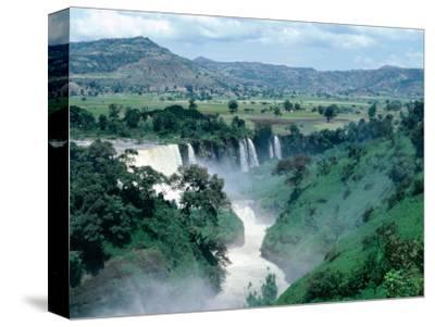 Blue Nile Falls, Near Bahar Dar, Bahar Dar, Ethiopia-Bethune Carmichael-Stretched Canvas Print