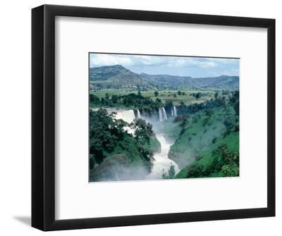 Blue Nile Falls, Near Bahar Dar, Bahar Dar, Ethiopia-Bethune Carmichael-Framed Photographic Print