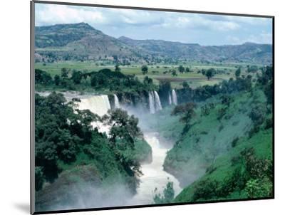 Blue Nile Falls, Near Bahar Dar, Bahar Dar, Ethiopia-Bethune Carmichael-Mounted Photographic Print
