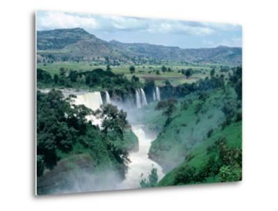 Blue Nile Falls, Near Bahar Dar, Bahar Dar, Ethiopia-Bethune Carmichael-Metal Print