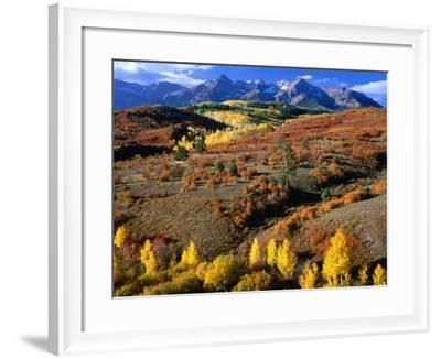 Sneffels Ridge, Colorado, USA-Rob Blakers-Framed Photographic Print