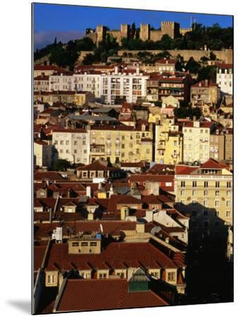 Rooftops and Buildings of City, Lisbon, Portugal-Bethune Carmichael-Mounted Photographic Print