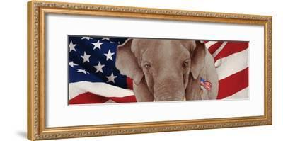 Grand Old Party-Will Bullas-Framed Premium Giclee Print