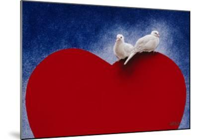 Lovey Dovey-Will Bullas-Mounted Premium Giclee Print