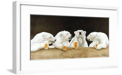 Polar Beers-Will Bullas-Framed Premium Giclee Print