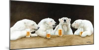 Polar Beers-Will Bullas-Mounted Premium Giclee Print