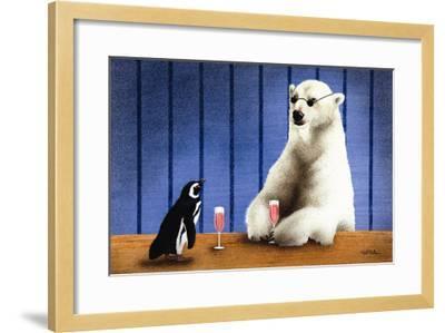 The Wine Bars-Will Bullas-Framed Premium Giclee Print