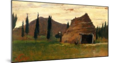 Landscape, Silvestro Lega, National Modern Art Gallery, Florence-Silvestro Lega-Mounted Giclee Print