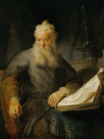 The Apostle Paul, 1633-Rembrandt van Rijn-Framed Giclee Print
