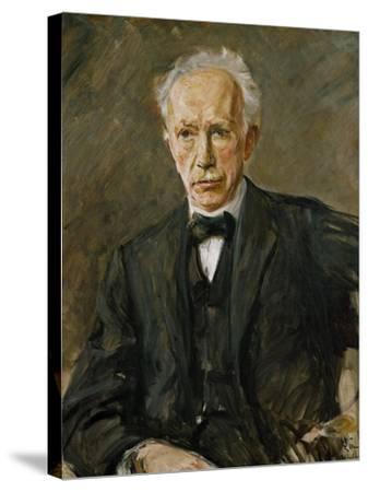 Composer Richard Strauss (1864-1949)-Max Liebermann-Stretched Canvas Print