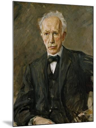 Composer Richard Strauss (1864-1949)-Max Liebermann-Mounted Giclee Print