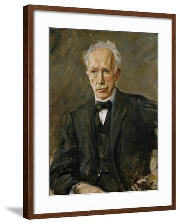 Composer Richard Strauss (1864-1949)-Max Liebermann-Framed Giclee Print