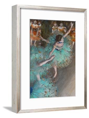 Green Dancer, circa 1880-Edgar Degas-Framed Premium Giclee Print