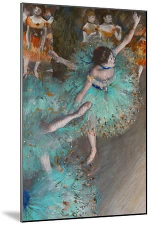 Green Dancer, circa 1880-Edgar Degas-Mounted Premium Giclee Print