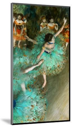 Green Dancer, circa 1880-Edgar Degas-Mounted Giclee Print