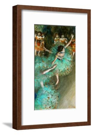 Green Dancer, circa 1880-Edgar Degas-Framed Giclee Print