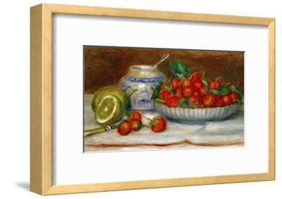 Strawberries, circa 1905-Pierre-Auguste Renoir-Framed Premium Giclee Print
