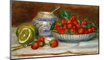Strawberries, circa 1905-Pierre-Auguste Renoir-Mounted Premium Giclee Print