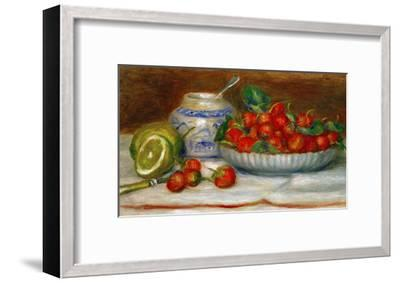 Strawberries, circa 1905-Pierre-Auguste Renoir-Framed Giclee Print
