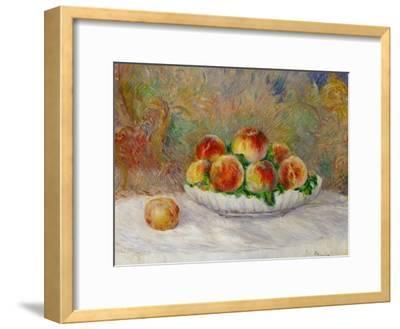 Peaches-Pierre-Auguste Renoir-Framed Premium Giclee Print