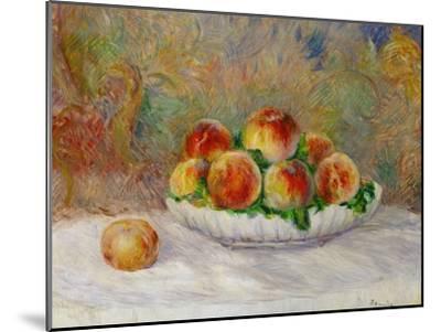 Peaches-Pierre-Auguste Renoir-Mounted Premium Giclee Print