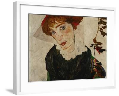 Portrait of Wally, 1912-Egon Schiele-Framed Giclee Print