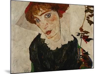 Portrait of Wally, 1912-Egon Schiele-Mounted Giclee Print