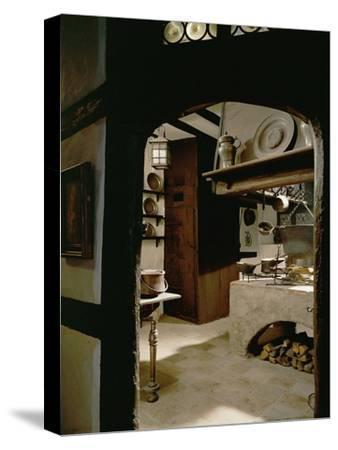Albrecht Duerer's Kitchen-Albrecht D?rer-Stretched Canvas Print