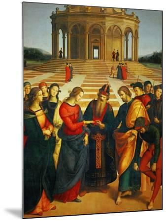 Marriage of the Virgin, 1504-Raphael-Mounted Giclee Print