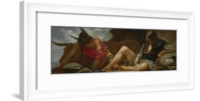 Mercury and Argos, 1659-Diego Velazquez-Framed Giclee Print