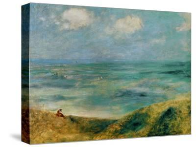 Seashore at Guernsey, 1883-Pierre-Auguste Renoir-Stretched Canvas Print