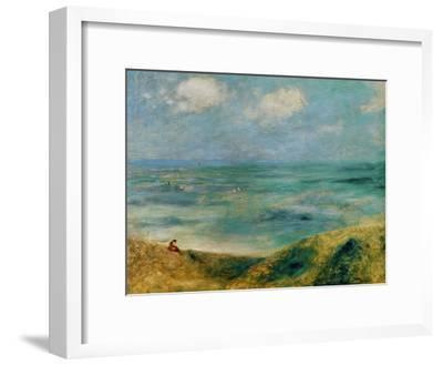 Seashore at Guernsey, 1883-Pierre-Auguste Renoir-Framed Premium Giclee Print