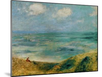 Seashore at Guernsey, 1883-Pierre-Auguste Renoir-Mounted Premium Giclee Print