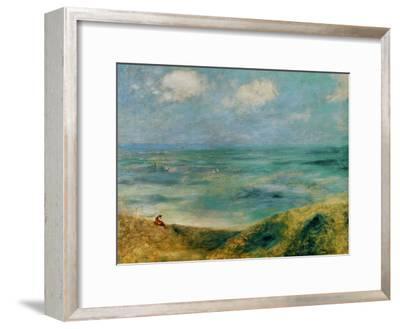 Seashore at Guernsey, 1883-Pierre-Auguste Renoir-Framed Giclee Print