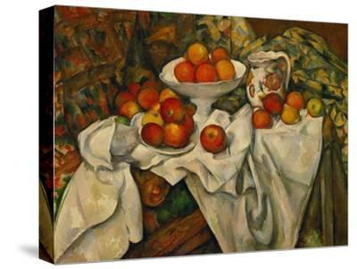 Apples and Oranges-Paul C?zanne-Stretched Canvas Print