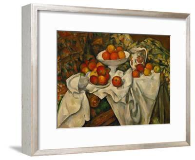 Apples and Oranges-Paul C?zanne-Framed Giclee Print