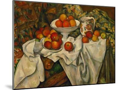 Apples and Oranges-Paul C?zanne-Mounted Giclee Print