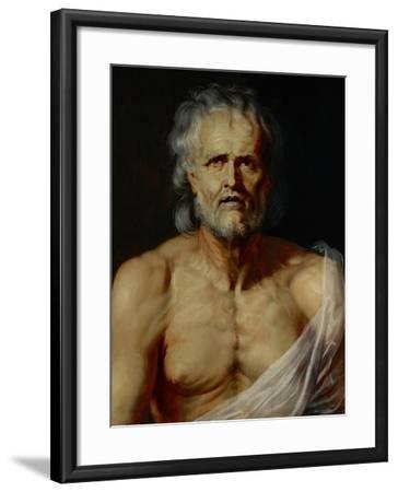 The Dying Seneca-Peter Paul Rubens-Framed Giclee Print