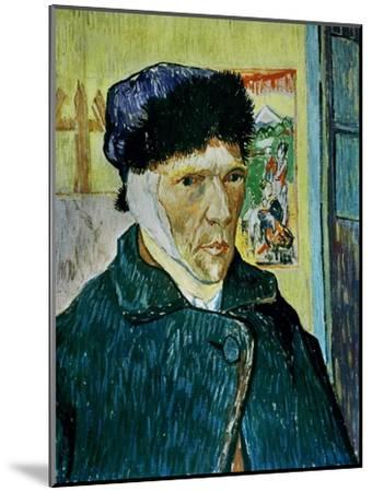 Self-Portrait with Bandaged Ear, c.1889-Vincent van Gogh-Mounted Giclee Print
